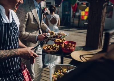 BBQ op het strand in Scheveningen