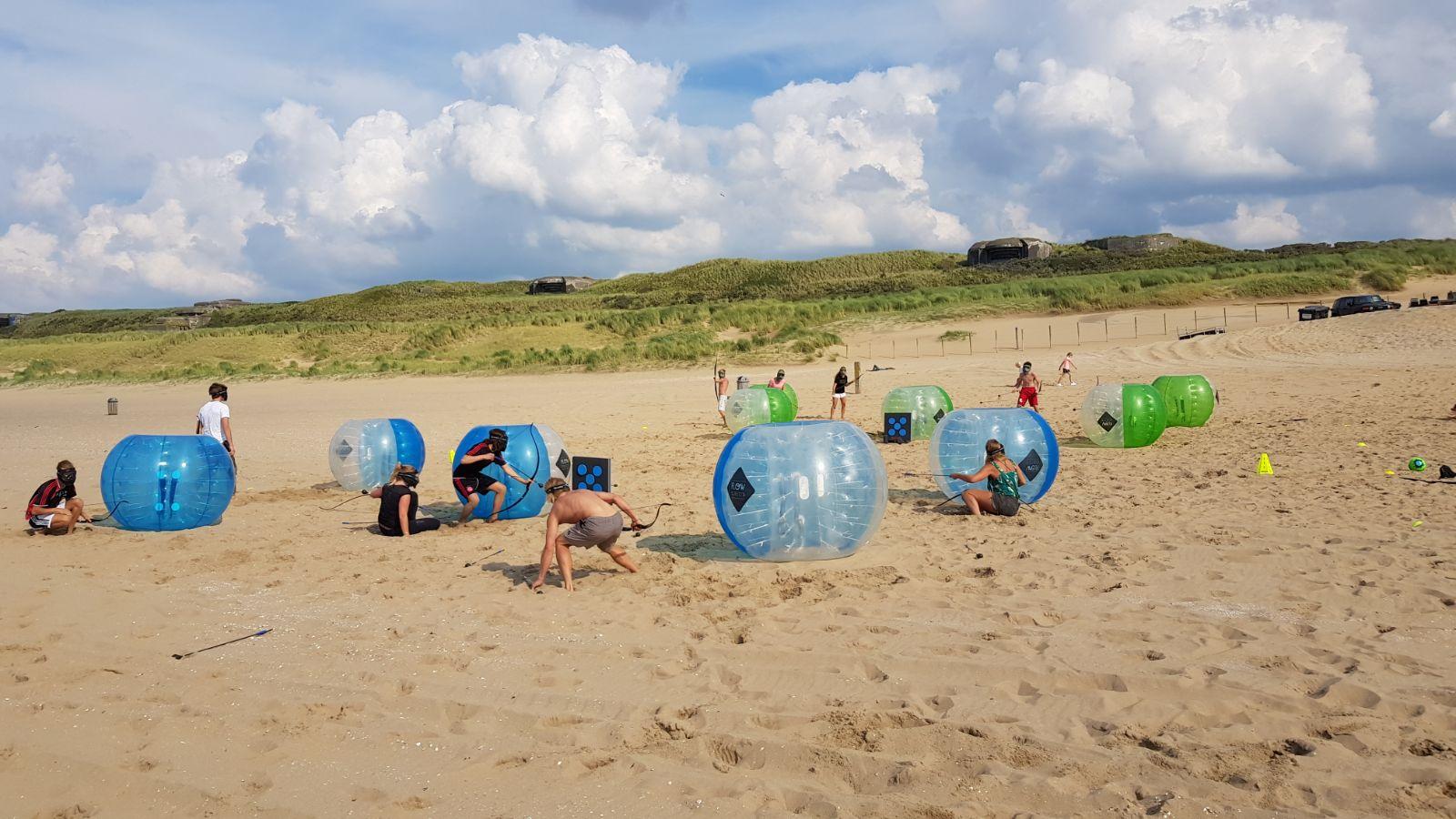 teamuitje Scheveningen corona beachclub indigo