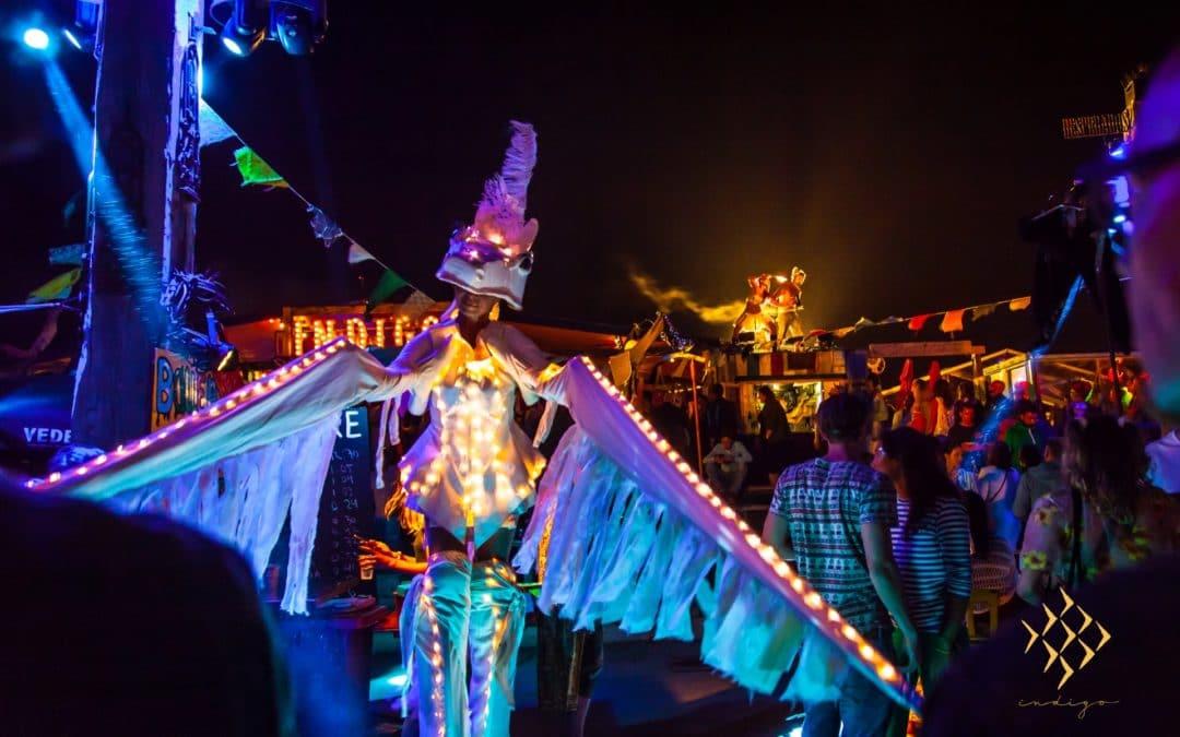 Indiburn: het grote Indigo-zomerfeest op het strand