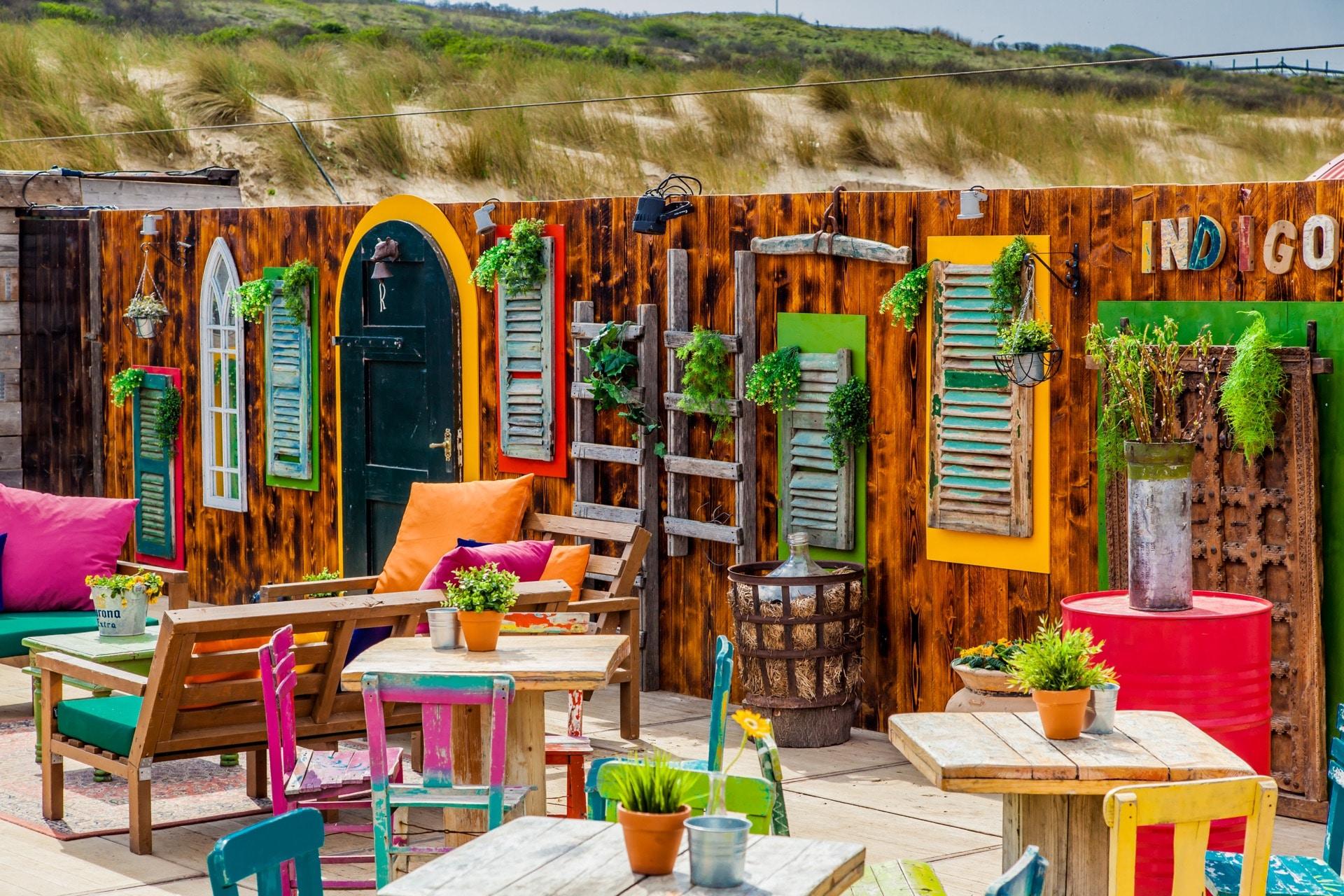 beachclub Indigo Eén bedrijfsuitje, 50 personen