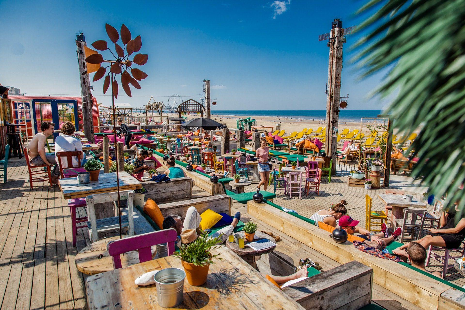Beachclub Indigo Restaurant Scheveningen
