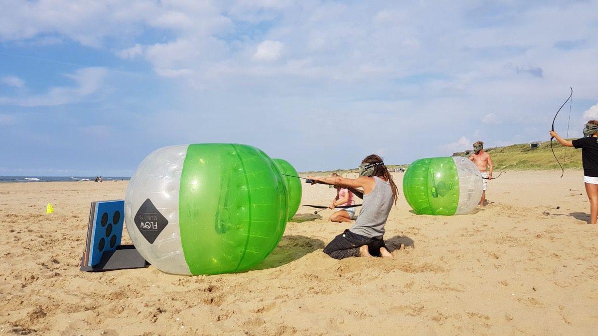 teamuitje Scheveningen beachclub indigo corona