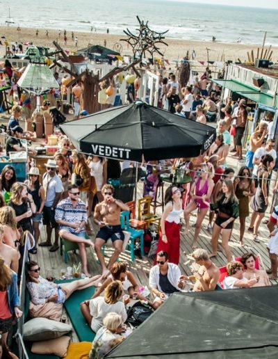 beachclubs Scheveningen indigo gezellig