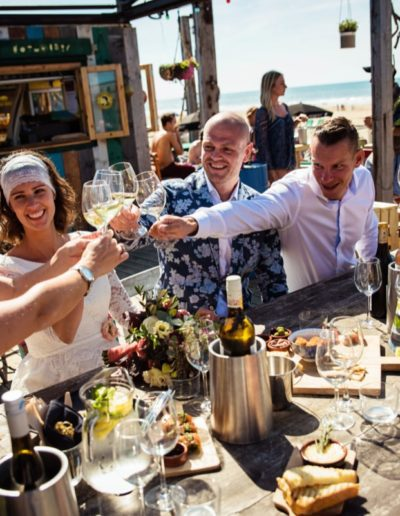 Corona-proof bedrijfsuitje beachclub indigo